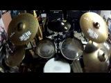 Hollywood Undead - Everywhere I go (кавер на барабанах)